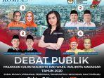 frisca-clarissa-moderator-debat-publik-perdana-pilwali-makassar.jpg