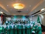 Anggia Ermarini Lantik Pengurus Fatayat NU Sulsel, Nurul Ulfa Ketua dan Herwanita Sekretaris