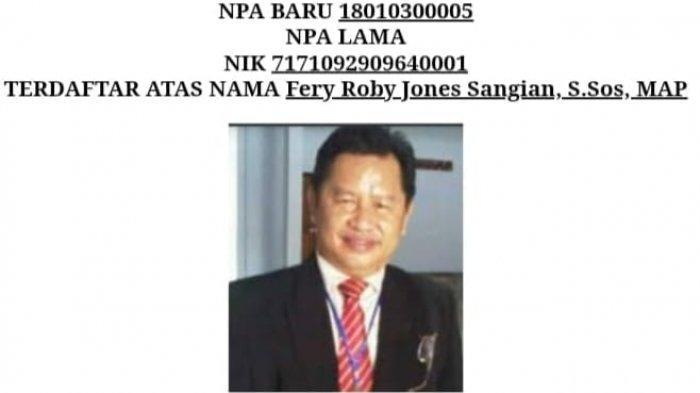 Fery Roby Jones Sangian S.Sos MAP
