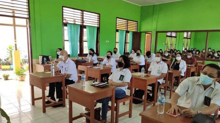 FKPT Sulut melakukan sosialisasi Lomba Guru Agama Moderasi di Sekolah di Kota Tomohon