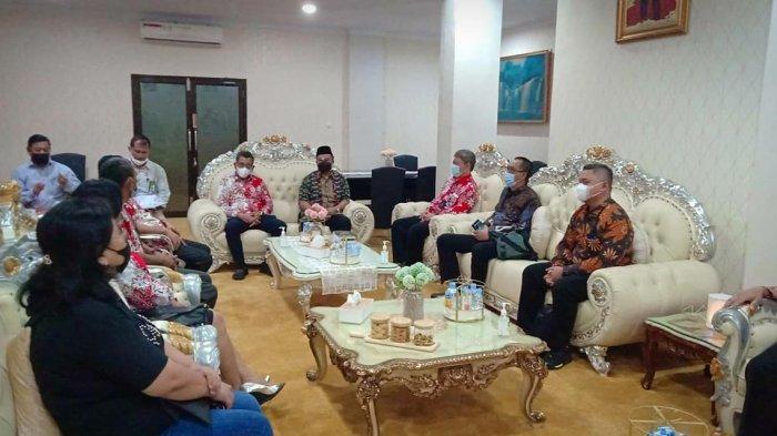 Sosialisasi pelopor moderasi di sekolah oleh H Chairil Anwar SH, Kasubdit Pemberdayaan Masyarakat BNPT dan rombongan