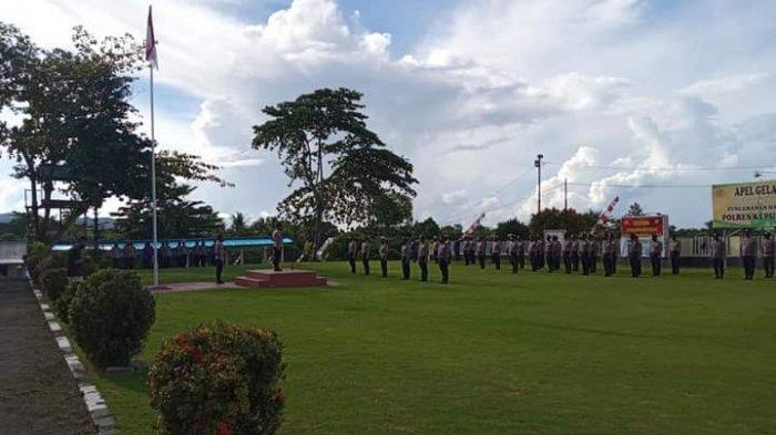 11 anggota Polri yang bertugas di Talaud mendapat reward atas prestasinya dalam menjalankan tugas sebagai anggota polri penjaga perbatasan.