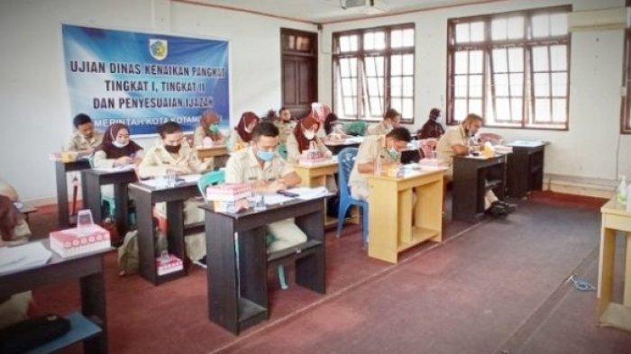19 ASN di Kotamobagu Ikut Ujian Kenaikan Pangkat