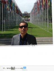 Rekson Silaban, aktifis buruh dalam bedah buku ''Rekleksi Tanpa Batas''