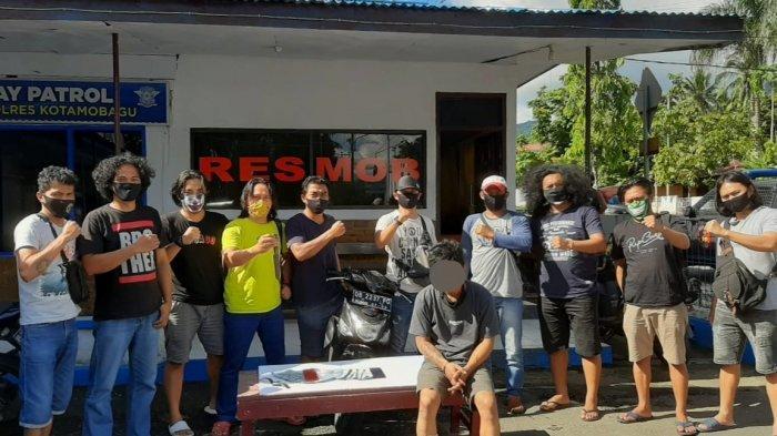 2 Kaki Babe Spesialis Pencuri Kios Dilumpuhkan Tim Resmob Kotamobagu