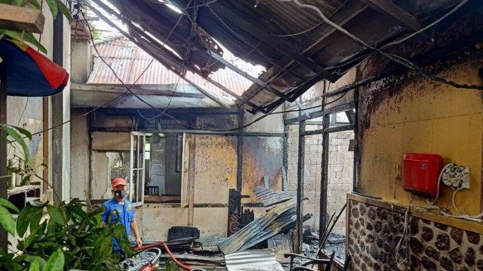 BREAKING NEWS: Jago Merah Beraksi, 2 Rumah di Wawalintowan Minahasa Terbakar