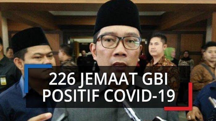 226 Jemaat GBI Positif Corona, Ridwan Kamil Sebut Pendeta dan Istri Meninggal Dunia