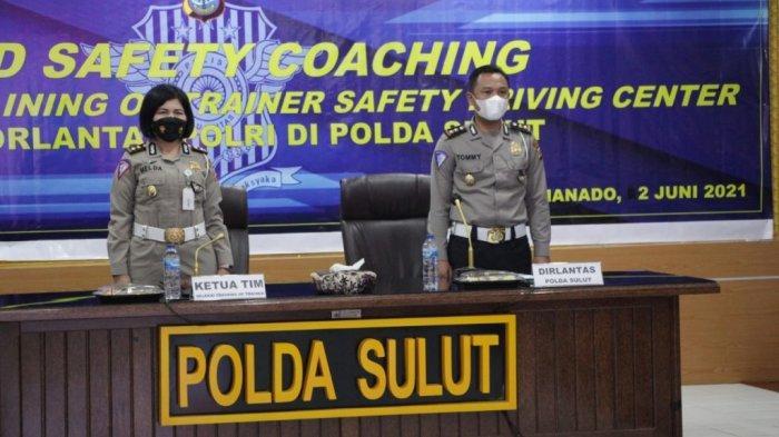 Sebanyak 25 Anggota Sat Lantas Mengikuti Seleksi Trainer of Training Safety Driving di Polda Sulut