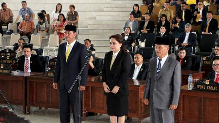 Bupati Minsel Optimistis 3 Anggota Dewan Baru Bakal Kerja Keras