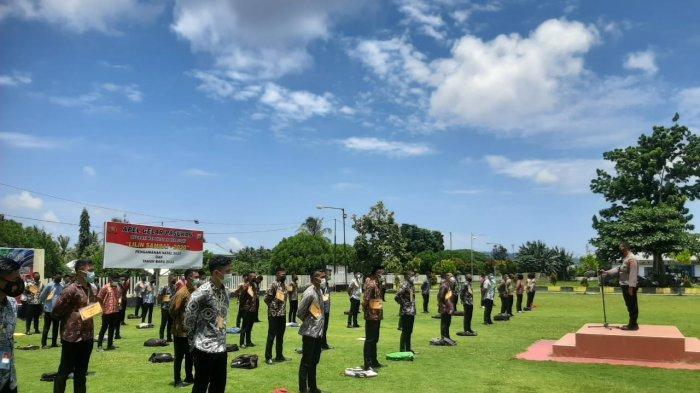 30 Casis Bintara dan 8 Tamtama Polri Utusan Polres Kepulauan Talaud Lulus Tes Akhir