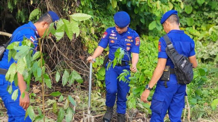 300 Pohon Ditanam Ditpolairud Polda Sulut untuk Menyukseskan Program Kapolri