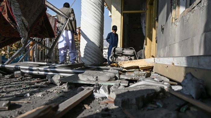 4 Unit Roket Kembali Hujani Ibu Kota Afghanistan, Beberapa Warga Berhasil Merekamnya dan Viral