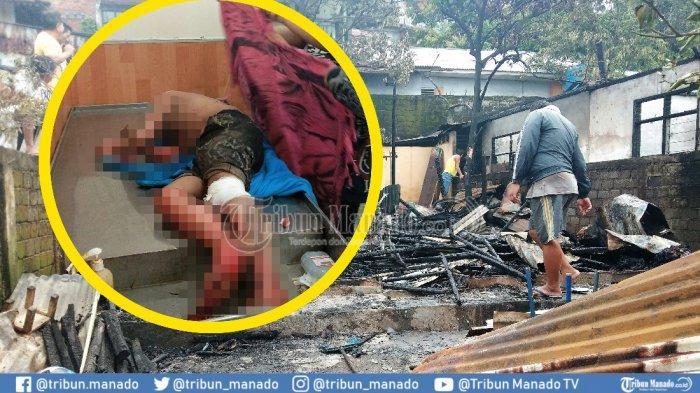 5 Fakta 2 Rumah di Wanea Ludes Terbakar, Kapolsek Sempat Kaget dengan Kondisi Terduga Pembakar