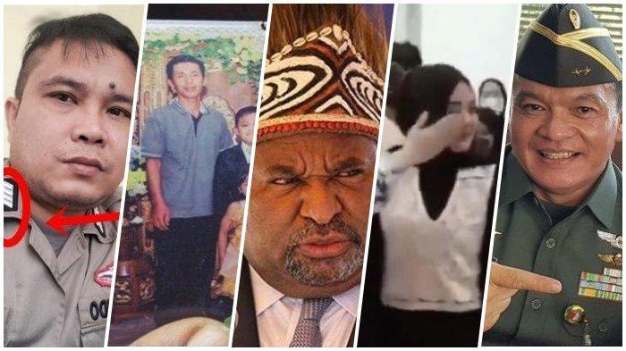 5 Populer Kemarin, Bripka Jerry Ditelepon Kapolri, Firasat Istri ke Suami, hingga Gubernur Papua