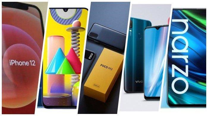 5 UPDATE Daftar Harga HP Terbaru Januari 2021, Mulai dari iPhone Samsung Xiaomi Vivo hingga Realme