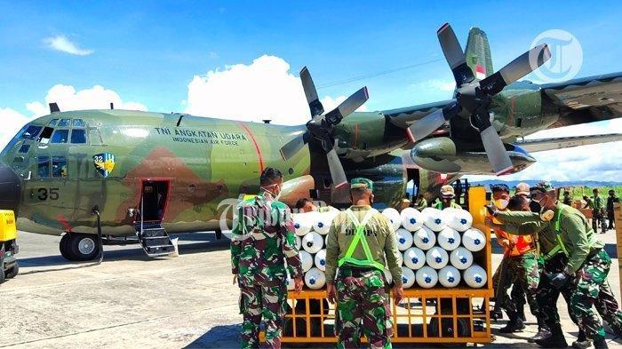 Mabes TNI Kirim 50 Tabung Oksigen, Seribu APD dan 150 Ribu Masker ke Papua