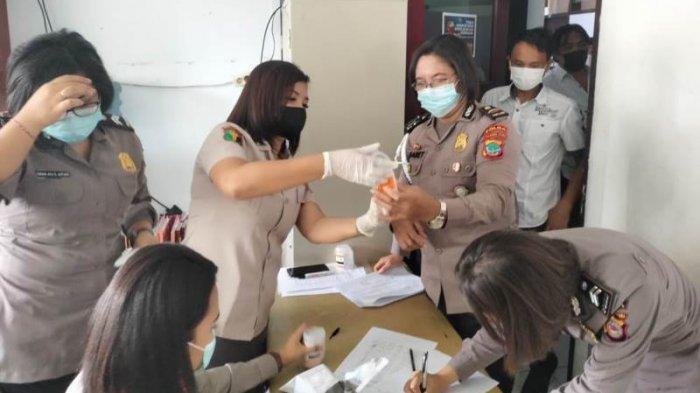 Jalani Tes Narkoba, 57 Personel Polda Sulut Dinyatakan Negatif