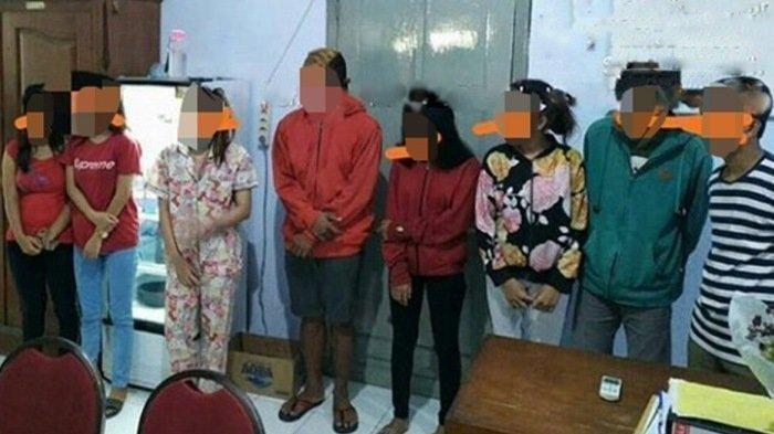6 Perempuan dan 4 Laki-Laki Diamankan Satpol PP Dari Satu Tempat Kos, Ditemukan Juga Botol Miras