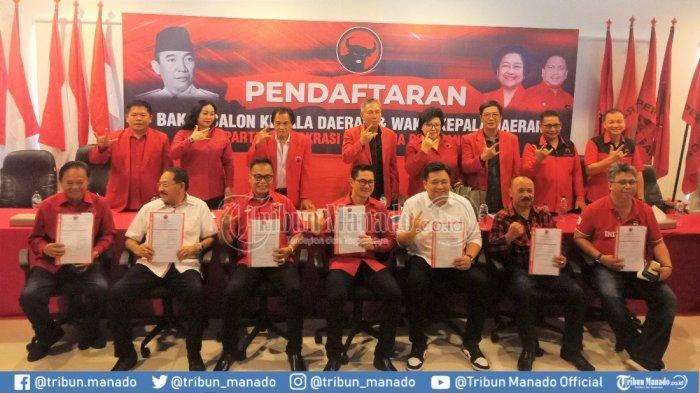 7 Figur Daftar di PDIP Incar Calon Kepala Daerah Minut, Joune Ganda Paling Berpeluang