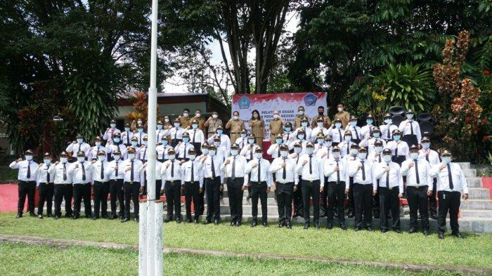 70 CPNS Pemkab Sitaro Jalani Pelatihan Dasar Selama 18 Hari
