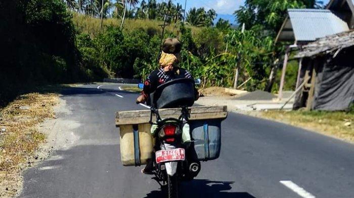 8 Sepeda Motor Pelat Merah Boltim Dihibahkan ke Penjual Ikan