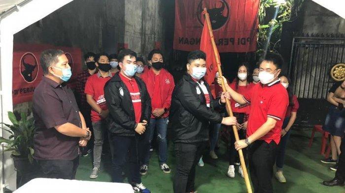 Andrei Angouw lantik Relawan JAM Sulut Hebat