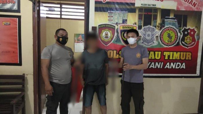 Mengamuk dan Ancam Warga, Arter Diamankan Aparat Polsek Siau Timur Kabupaten Sitaro