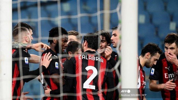 SEDANG BERLANGSUNG Live Streaming AC Milan vs Udinese, Rebic dan Leao jadi Tumpuan Rossoneri