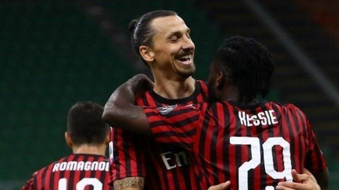 SKOR (Hasil Pertandingan) AC Milan VS Bologna, Liga Italia Minggu 19 Juli 2020