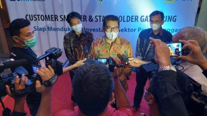 Acara 'Customer Smelter dan Stakeholder Gathering' yang digelar di Hotel Claro, Kendari, Sulawesi Tenggara pada Selasa (8/6/2021).