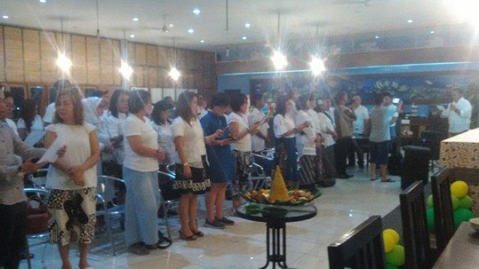 Relawan Jokowi-Amin Sulut Gelar Syukuran dan Donor
