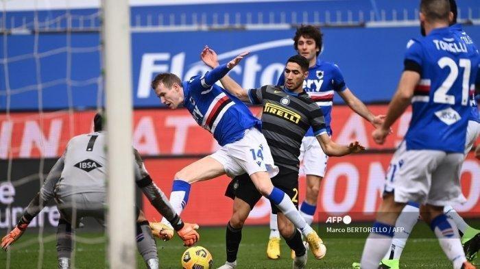 Hasil Liga Italia Sampdoria Vs Inter Milan Ac Milan Diuntungkan Nerazzurri Gagal Raih Poin Tribun Manado