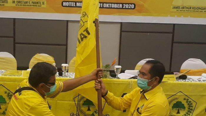 Adrie Kamasi Terpilih Aklamasi Ketua DPD II Partai Golkar Minahasa