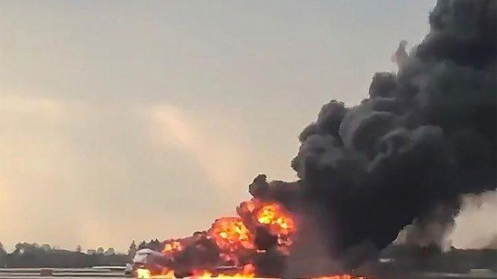 Insiden Pesawat Sukhoi Aeroflot, KBRI Moskow: Tidak Ada Korban Orang Indonesia