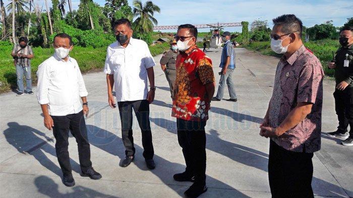 Menteri Investasi dan BKPM Sebut Gubernur Olly Berpikir Global dan Wali Kota Maurits Humanis