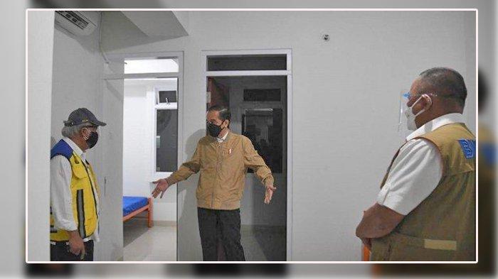 Kegiatan Presiden Joko Widodo Tadi Malam, Cek Tempat untuk Isolasi Pasien Covid