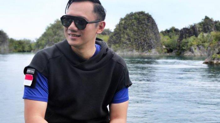 Main Air di Curug Sawer, Perut Sixpack Agus Harimurti Yudhoyono Bikin Warganet Salah Fokus