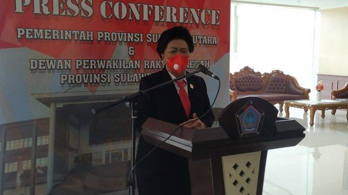 Agustine Kambey Resmi Anggota DPRD Sulut, Wagub Harapkan Jadi 'Macan Politik' Gedung Cengkih