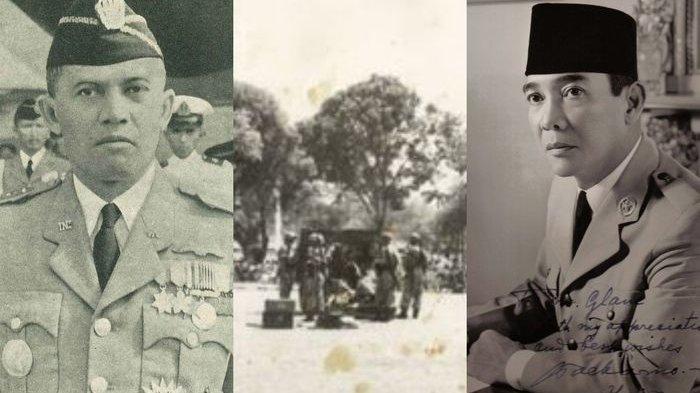 AH Nasution dan Soekarno.