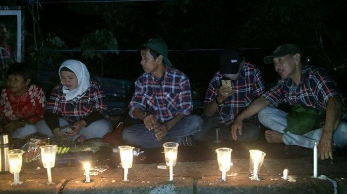Pendukung Ahok Gelar Doa Bersama dan Nyalakan Lilin di Mako Brimob