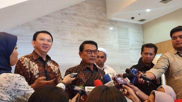 Ahok Bertemu Moeldoko, Mafia Migas Siap Dilibas, BTP: Urusan Jenderal Bintang 4