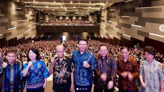 Ahok Unggah Foto BersamaSyafi'i Maarif di Hadapan Ribuan Mahasiswa dan Tulis:Aku untuk Indonesiaku