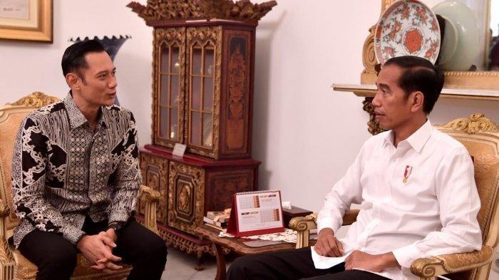 Sikap Berani AHY Ketemu Jokowi di Istana Tanpa Sepengetahuan Prabowo-Sandi dan Demokrat