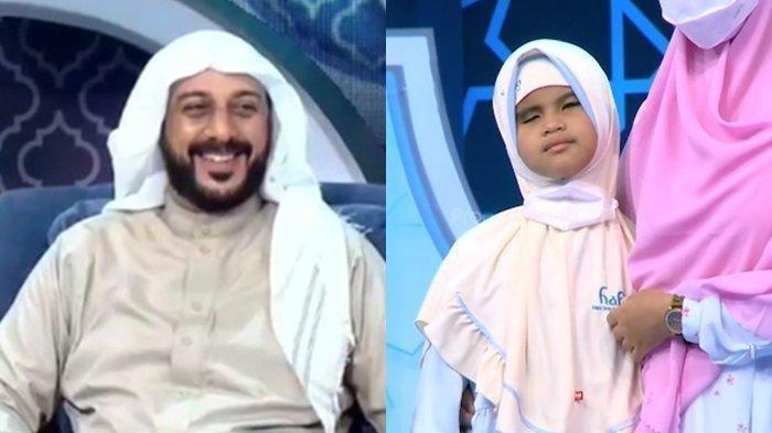 Peserta Hafiz Indonesia Seorang Tuna Netra Mencari Syekh Ali Jaber, Membuat Tangis Ustaz Amir Pecah
