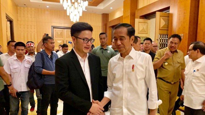Adrian Paruntu Berterima Kasih Bisa Bertemu Presiden Joko Widodo