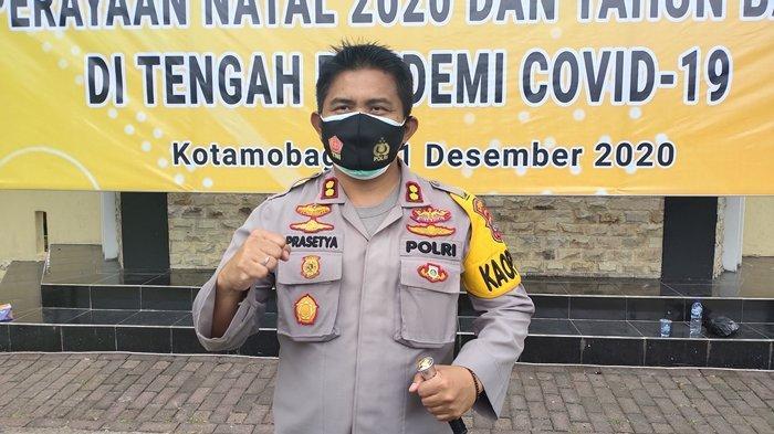 Hindari Kerumunan, Polres Kotamobagu Larang Warga Jual Kembang Api, Cegah Penyebaran Covid-19