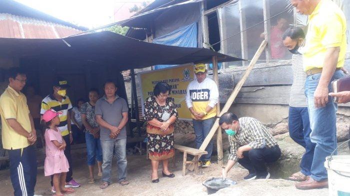 Kepala Desa Karor Apresiasi Bantuan Bedah Rumah Dari DPD Partai Golkar