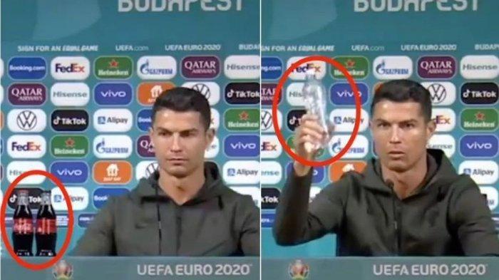 Saham Coca-cola Anjlok setelah Aksi Cristiano Ronaldo Viral di Medsos, Ini Tanggapan Perusahaan