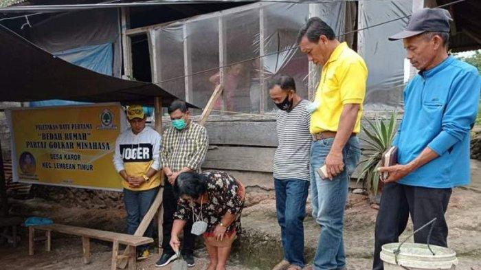 Bantu Warga Kurang Mampu, Adrie Kamasi Wujudkan Pembangunan Bedah Rumah