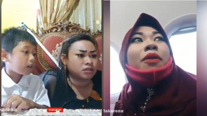 VIDEO Aksinya Viral, Tante Lala Kini Syuting Bareng Nikita Mirzani